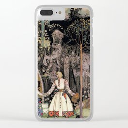 Handsome prince charming Clear iPhone Case