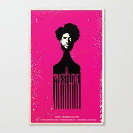 Questlove Poster Canvas Print