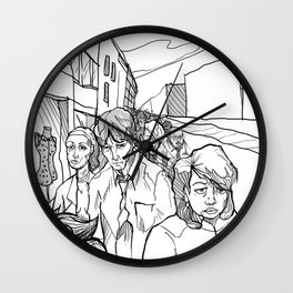 Midding City Wall Clock
