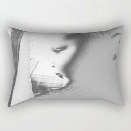 Longing to Play Rectangular Pillow
