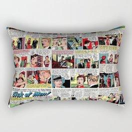 Sick of Men Rectangular Pillow