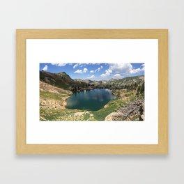 Cecret Lake Framed Art Print