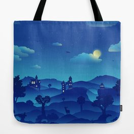 Fairytale Dreamscape Tote Bag