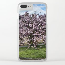 Ashby St Ledgers thatched cottages Clear iPhone Case