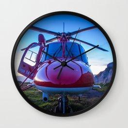 Air Rescue Wall Clock