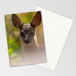 #Sweet #Fawn, who can resist these #eyes Stationery Cards