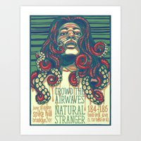 Crowd the Airwaves  - Spike Hill Gig Poster Art Print