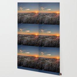 South Dakota Sunset - Dusk in the Badlands Wallpaper