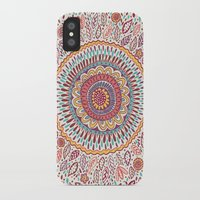 micklyn iPhone & iPod Cases featuring Sunflower Mandala by Janet Broxon