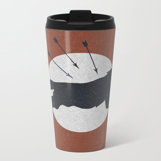 Wolf & Arrow Metal Travel Mug