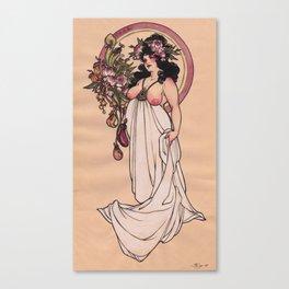 Fancy Feast Canvas Print