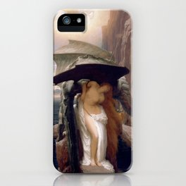 Perseus and Andromeda, Lord Leighton Frederic iPhone Case