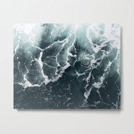 Wave Patterns Metal Print
