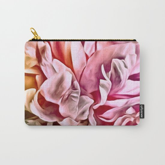 Painted Peony Warm Carry-All Pouch