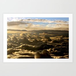 Sky over the Atlantic Ocean Art Print