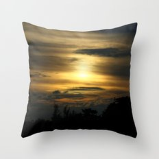 a darkness within... Throw Pillow