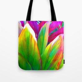 Sacred Ti Leaf Tote Bag
