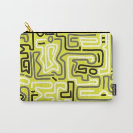 Tokyo Mon Amour - Yellow Winter Carry-All Pouch