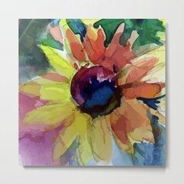Autumn flower Metal Print
