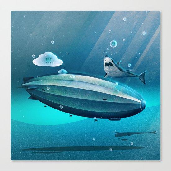 Weird Waters Canvas Print