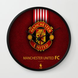 Manchester United Football Club , The Red Devils : My Favorite Sport Team Wall Clock