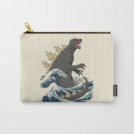 The Great Monster Off Kanagawa Carry-All Pouch