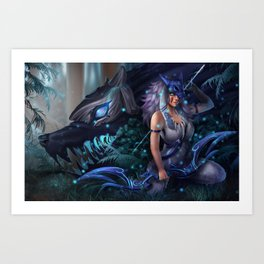 Princess Kinnonoke Art Print