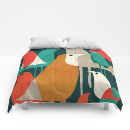 Flock of Birds Comforters