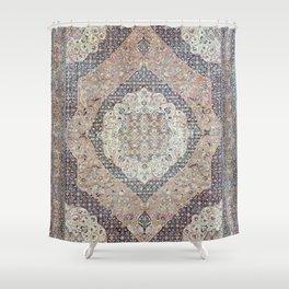 Haj Jalili Tabriz Persian Rug Print Shower Curtain