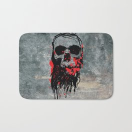 Blood Skull Bath Mat