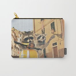 Raccoons on the road trip Carry-All Pouch