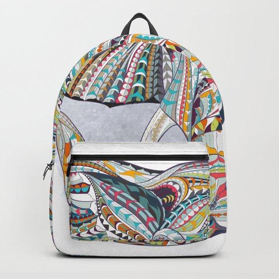 Colorful Ethnic Elephant Backpack