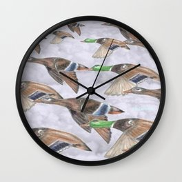 """ Migration "" Wall Clock"
