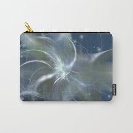 Snowstorm in Abstract Carry-All Pouch