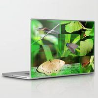 insects Laptop & iPad Skins featuring Forest Insects  by Andrew Sliwinski