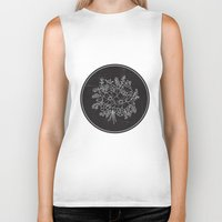 circle Biker Tanks featuring circle by aticnomar
