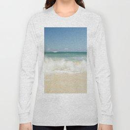 beach love shoreline serenity Long Sleeve T-shirt