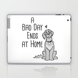 A Bad Day Ends at Home Laptop & iPad Skin