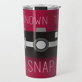 Known To Snap Travel Mug