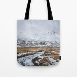 Heading to the Mountains - Landscape and Nature Photography Tote Bag