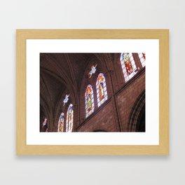 La Basílica del Sagrado Voto Nacional, Seis Framed Art Print