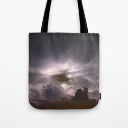 Night Explosions - V04 Tote Bag