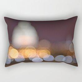 Abstract Bokeh Capitol Rectangular Pillow