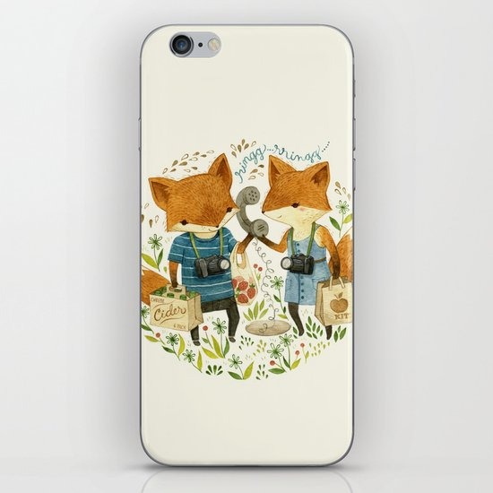 Fox Friends iPhone & iPod Skin