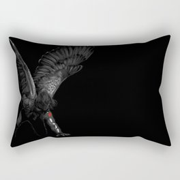 winged winter soldier Rectangular Pillow
