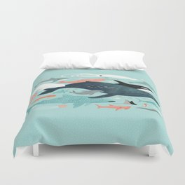 Under the Sea Menagerie Duvet Cover