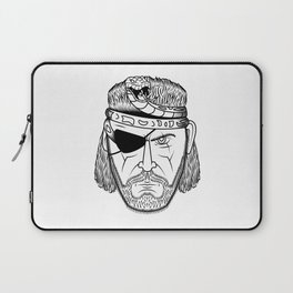 Portrait of a Snake Laptop Sleeve