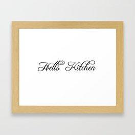 Hell's Kitchen Framed Art Print