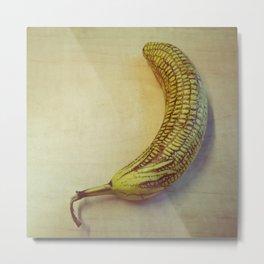 Corny Banana Metal Print