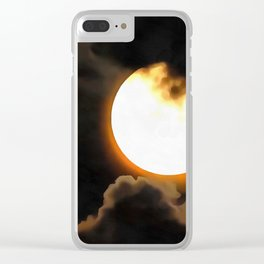 Above Majestic Clear iPhone Case
